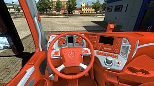 Orange interior