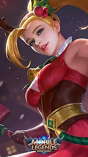 Karina Christmas Cheer Carnival Heroes Assassin Mage of Skins V1