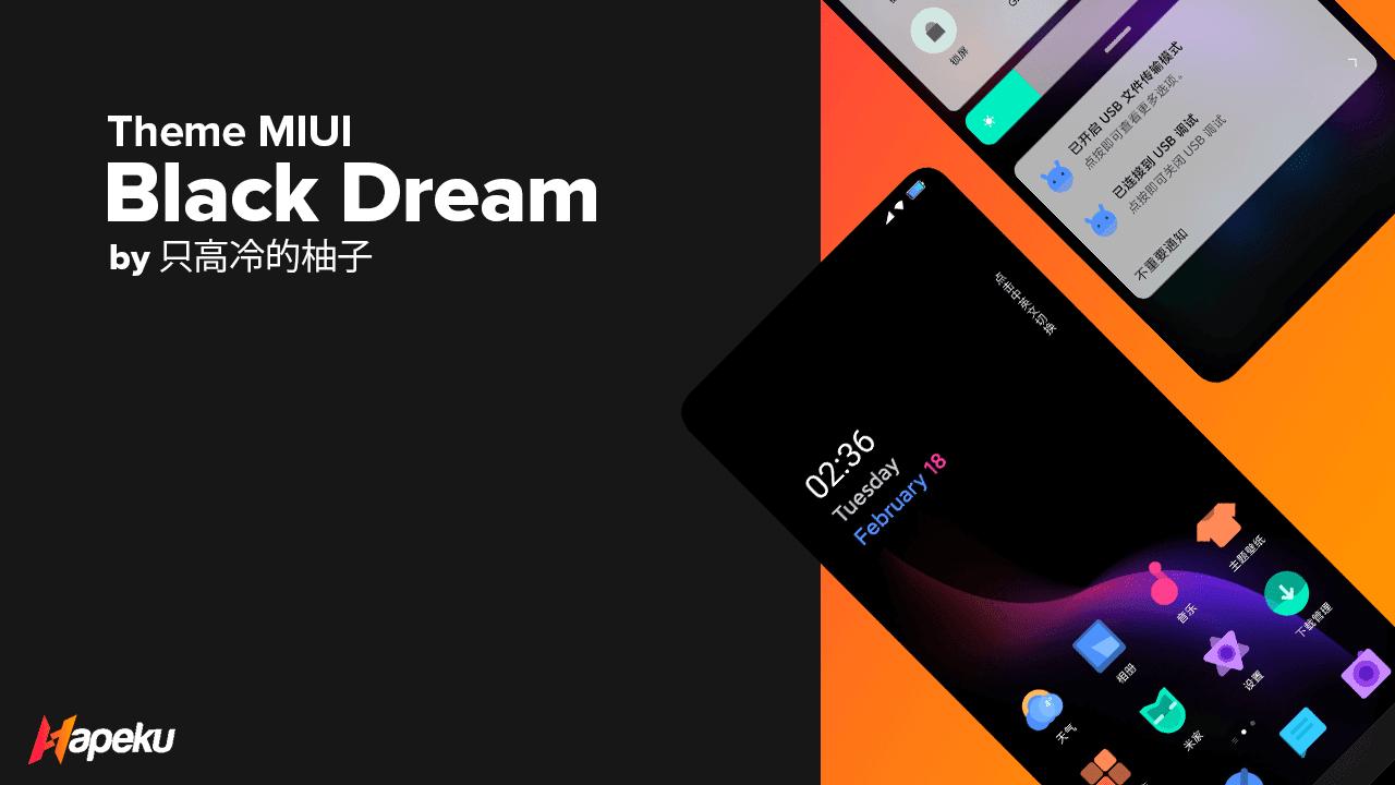 Theme Black Dream 1.0.0 for MIUI 10 & 11