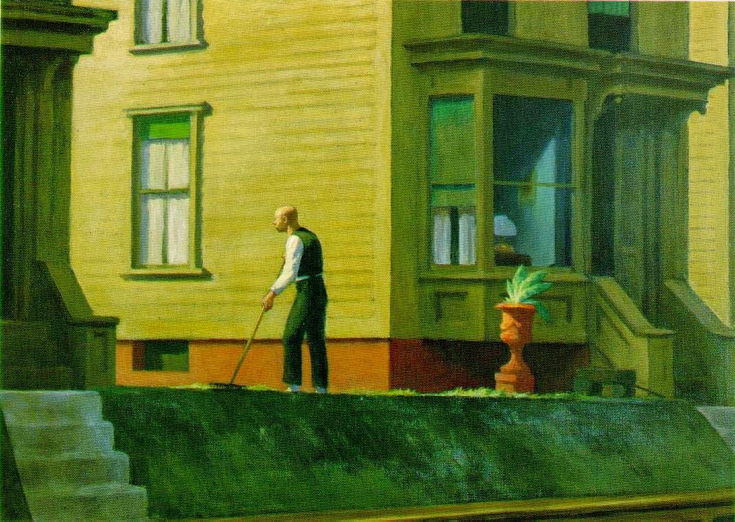 Pensilvânia - Edward Hopper e suas principais pinturas ~ O pintor da solidão