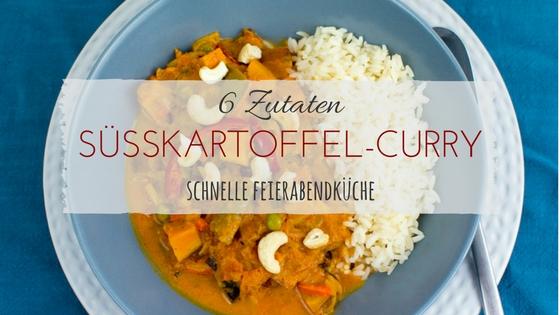 Rezept Süßkartoffel-Wokgemüse-Curry by Anis Blog