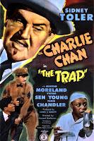Póster película Charlie Chan en La trampa