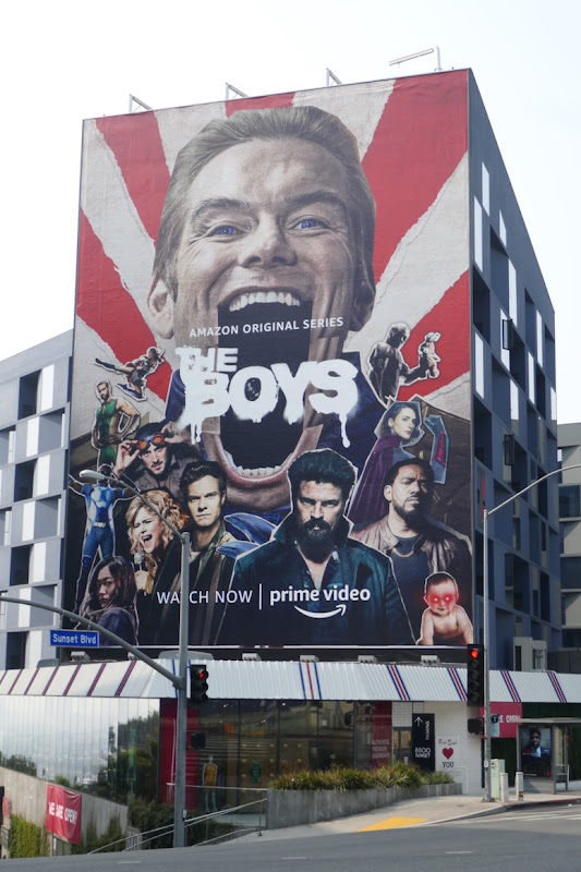 Giant The Boys season 2 billboard