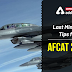 Last Minutes Tips for AFCAT 2020: Check Here