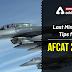 Last Minutes Tips for AFCAT 2020