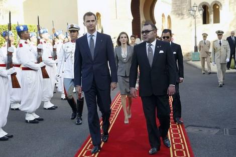 """لقاء الملك والعاهل الإسباني يعيد ملف """"مونديال 2030"""" إلى الواجهة"""