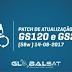 GLOBALSAT PATCH DE ATIVAÇÃO GS120 E GS240 SKS 58W - 14/08/2017