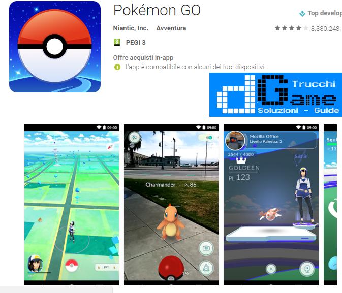 Trucchi Pokèmon Go Mod Apk Android