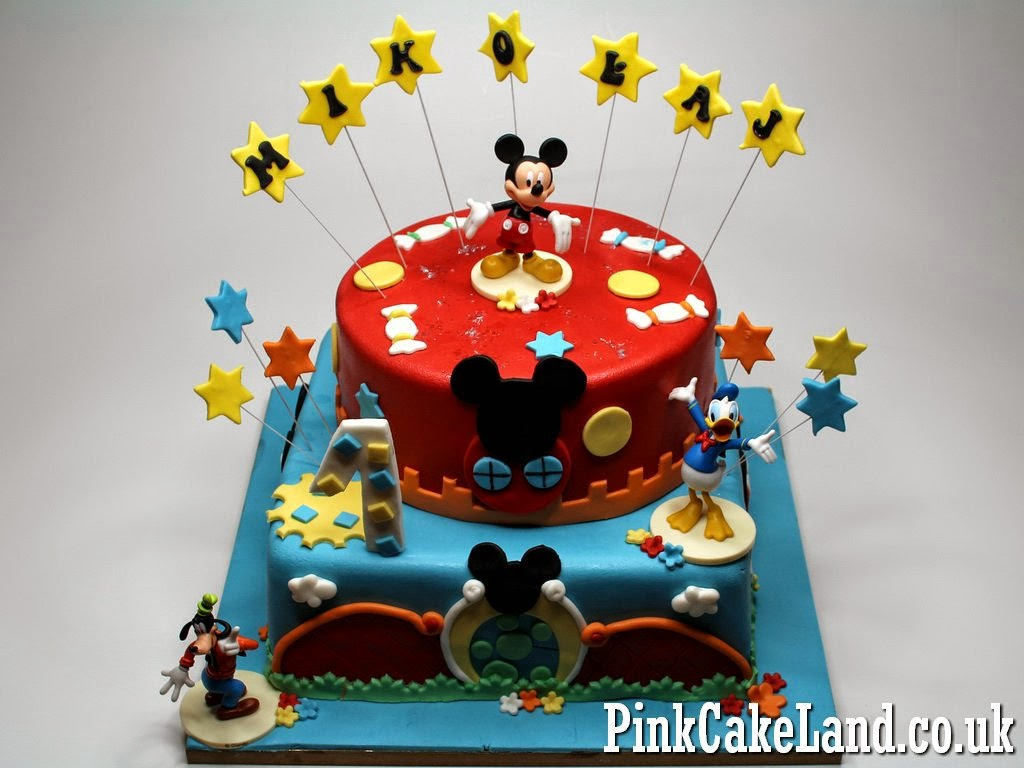 Mickey N Minnie Birthday Cakes