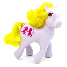 MLP Woosie Year Six Happy Tails Ponies G1 Pony