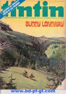 Tintin numéro 39, Buddy Longway