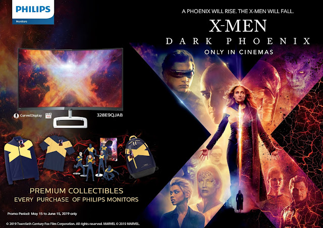 Philips Monitors Partners with Twentieth Century Fox for X-Men: Dark Phoenix