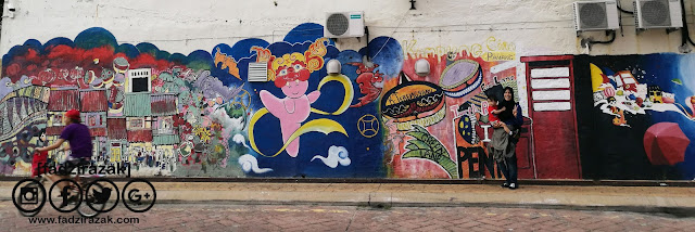 Tempat Menarik Di Terengganu: Street Art Kuala Terengganu