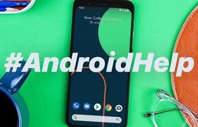 جوجل تطلق هاشتاج على تويتر #AndroidHelp