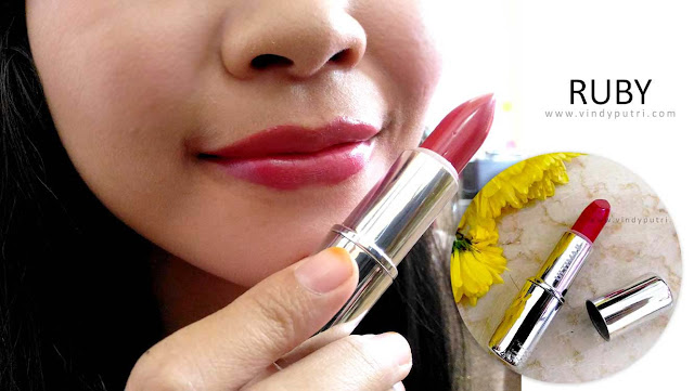 Review ULTIMA II Delicate Lipstick - Ruby