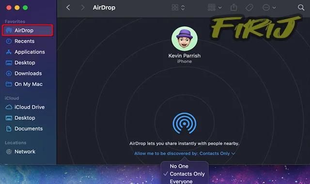 Comment AirDrop de votre iPhone vers un Mac ?