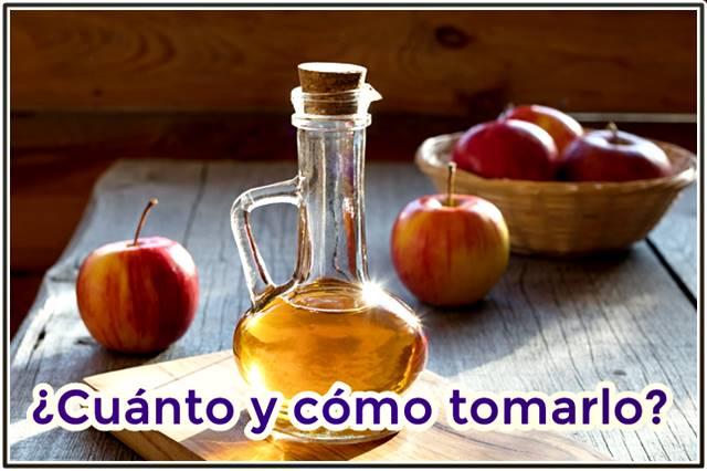 ¿Cómo se debe tomar el vinagre de manzana para aprovechar sus beneficios?