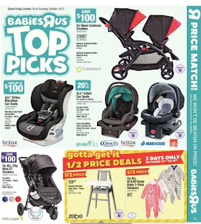 Babies R Us Flyer Baby Shower Gift Ideas valid October 13 - 19, 2017