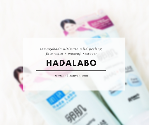 [REVIEW] Hada Labo Tamagohada Ultimate Mild Peeling Face Wash Make Up Remover