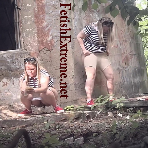 Pisswc Shit 11 (Outdoors Pooping Girls Voyeur)