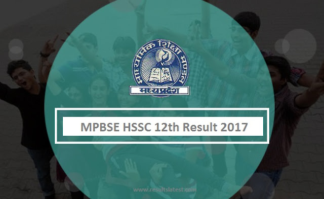 MPBSE HSSC 12th Result