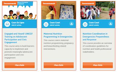 دورات مجانية تقدمها اليونيسف باللغة العربية مع شهادات مجانية