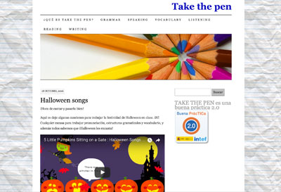 Take the pen - Belén Monreal
