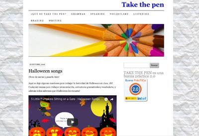 Take the pen - Belén Monreal