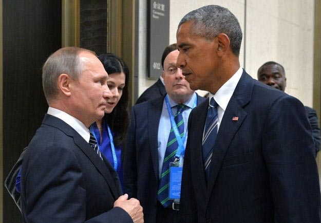 Caption this viral photo of Obama and Putin
