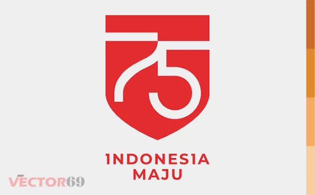 Logo Resmi HUT RI ke-75 Tahun 2020 - Download Vector File AI (Adobe Illustrator)