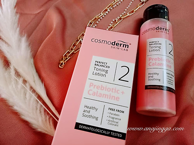 COSMODERM PERFECT BALANCED TONING LOTION