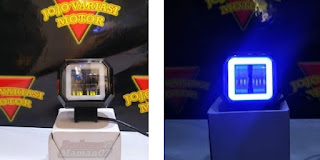 Model Lampu LED Day Maker Mini Square Biru