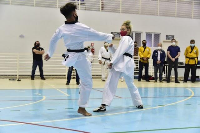 Aparecida: Mais de 100 atletas participam de Acampamento de Taekwondo
