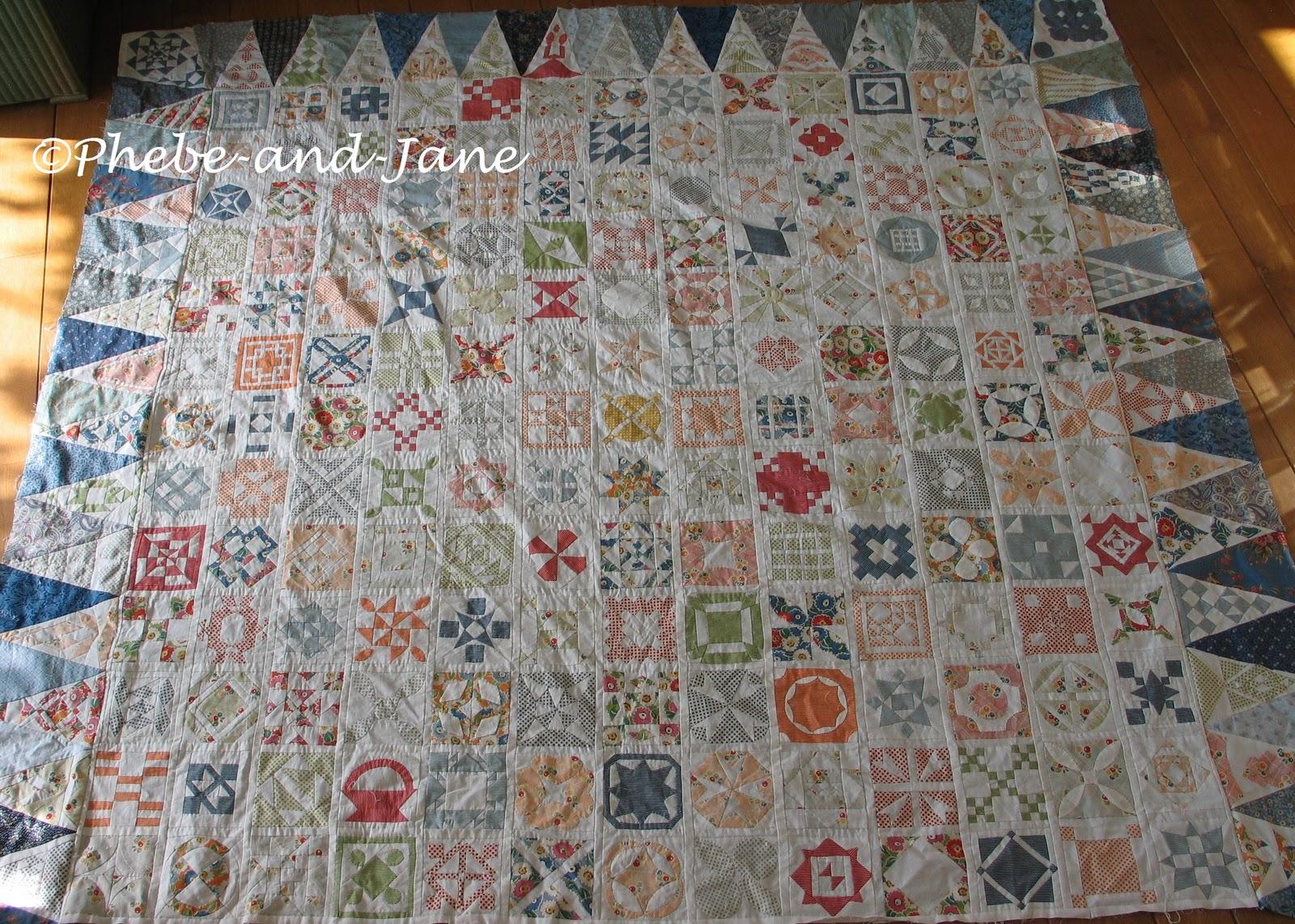 Quilten Startpagina Nl.Drie Driehoekranden Aan Mijn Dear Jane Quilt Quilten
