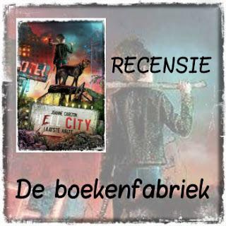 Recensie van De boekenfabriek over Hell City geschreven door Joanne Carlton en uitgegeven bij Hamley Books