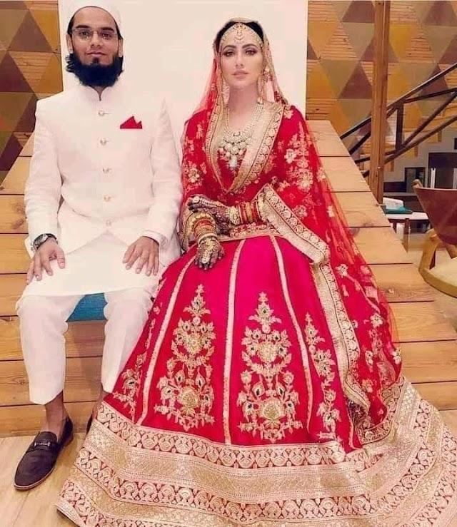 सना खान और मुफ्ती अनस की शादी...