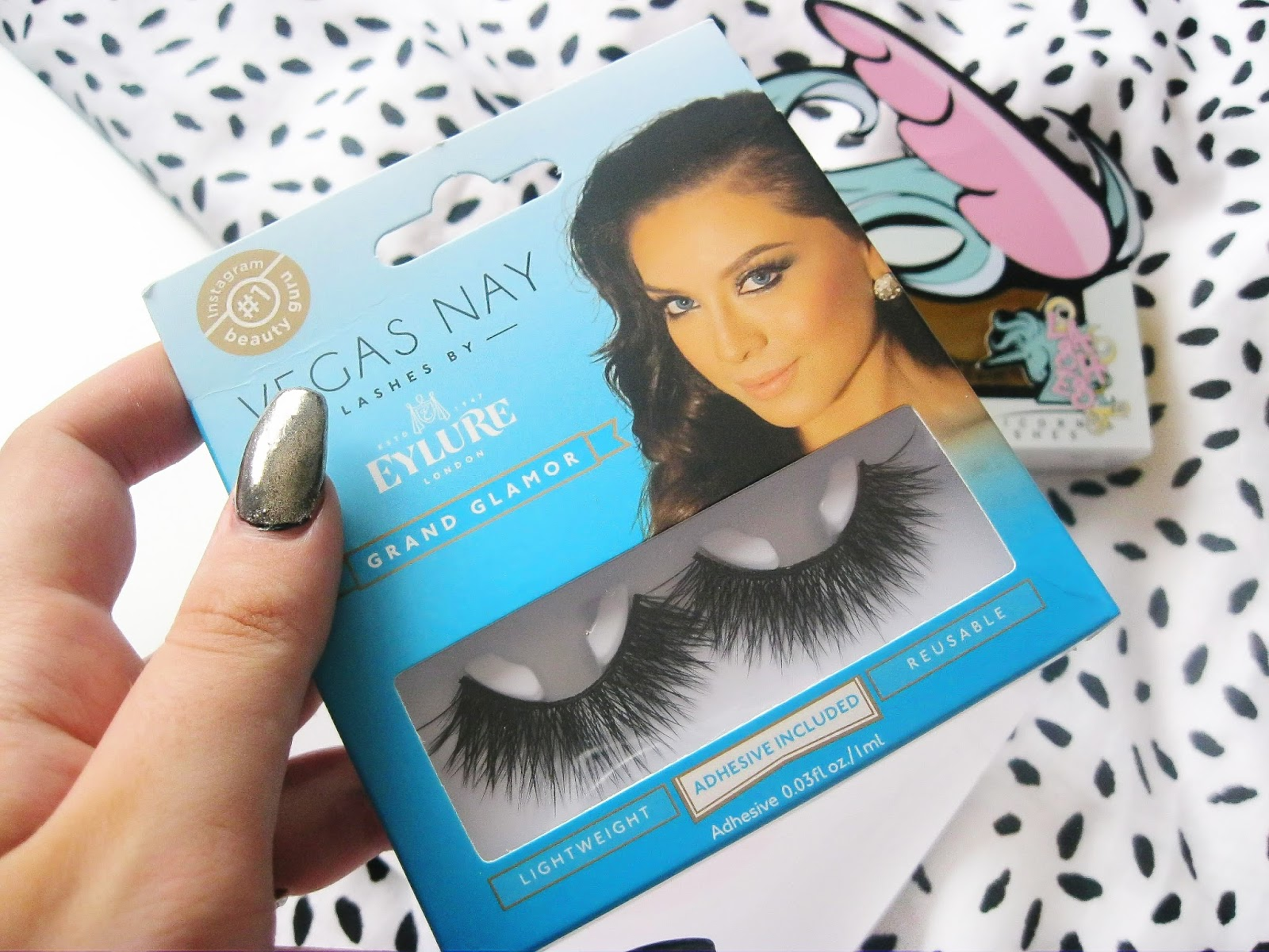 Eyelure eyelashes review Vegas nay grand glamour