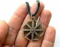 купить коловрат на шею славянский коловрат купить обереги древних славян из бронзы купить