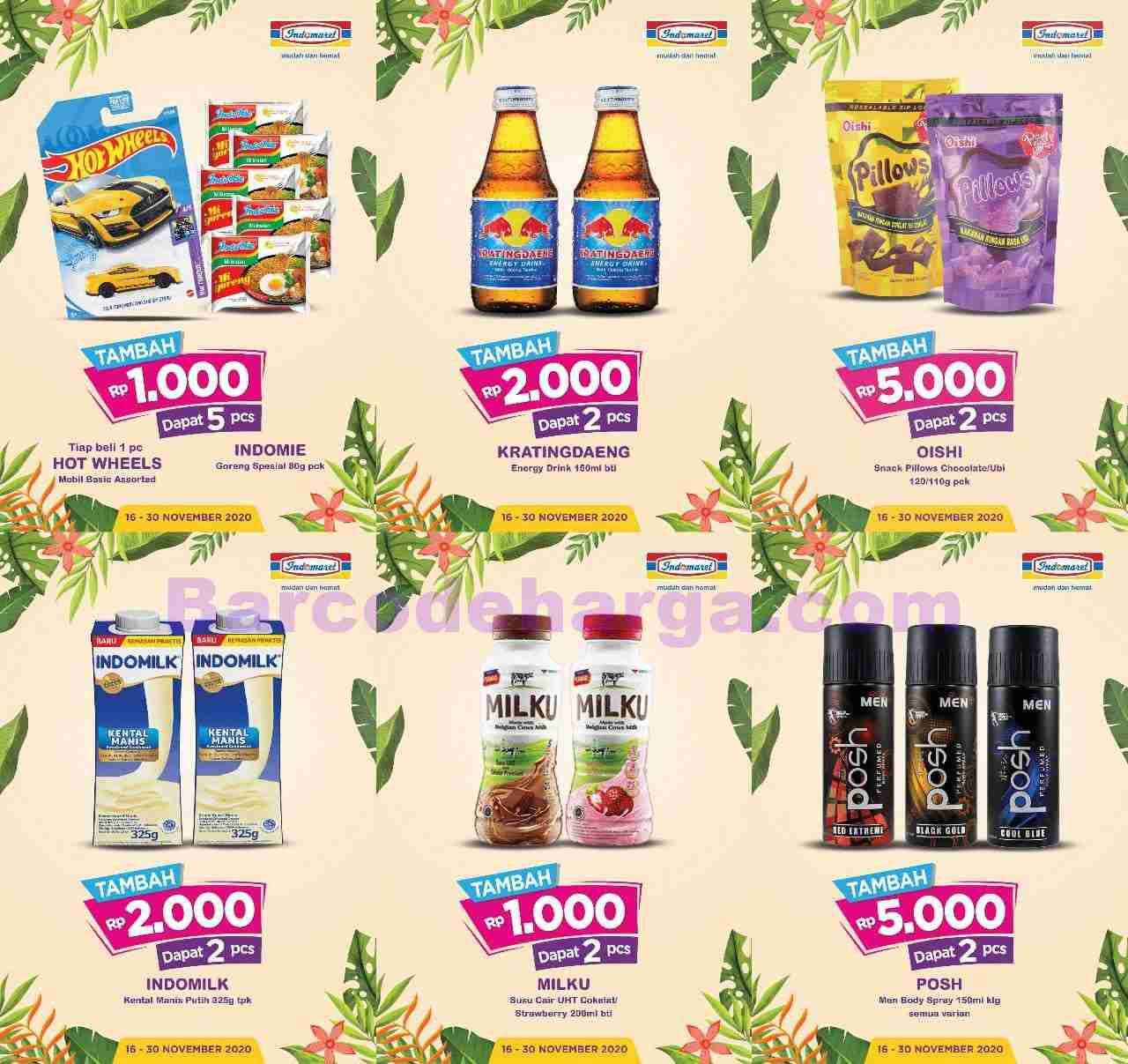 Katalog Indomaret Promosi Bulan Ini Terbaru 1 15 Desember 2020 Barcodeharga Harga Promo Alfamart Indomaret Giant Hypermart Superindo Lottemart Carrefour