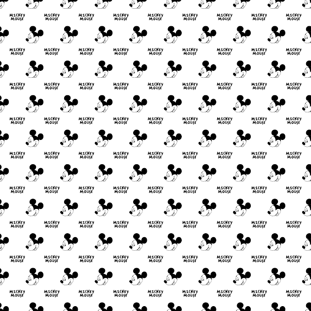 mickey mouse inspired digital paper free download 300 dpi
