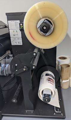 Load Printed Labels/Laminate