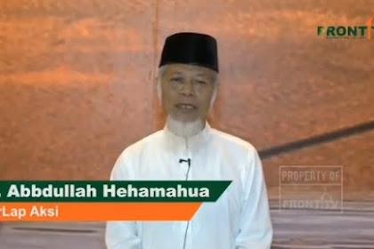 Pesan dan Seruan dari Abdullah Hehamahua Untuk Hadiri & Kawal Terus Sidang MK
