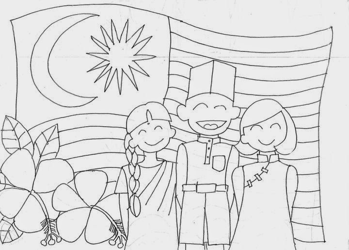Malaysia Flag Coloring Pages Learny Kids