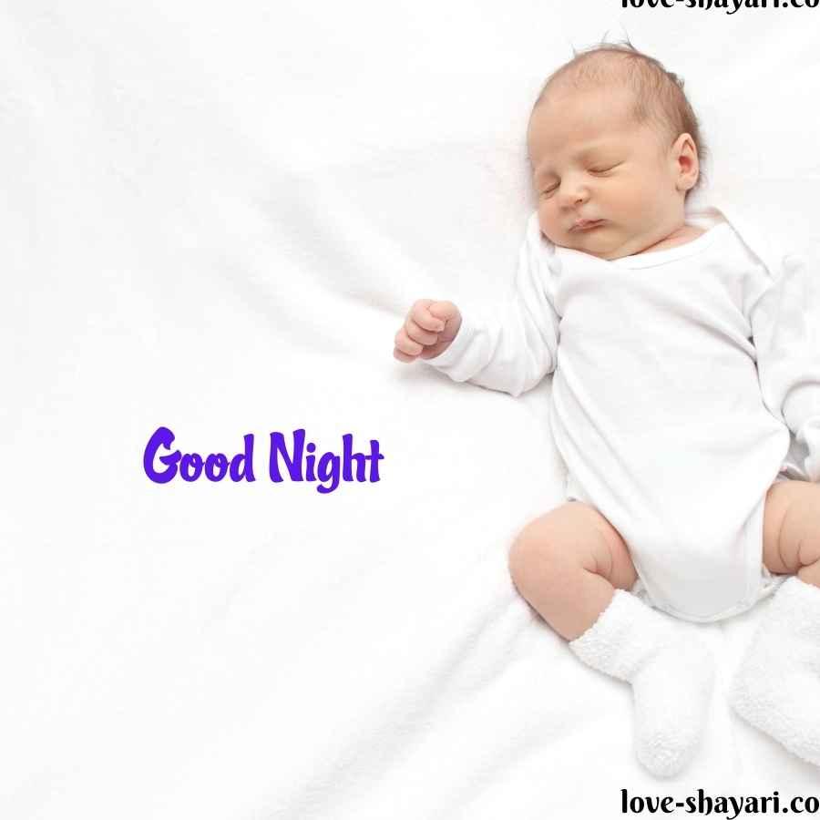 sleeping baby images good night