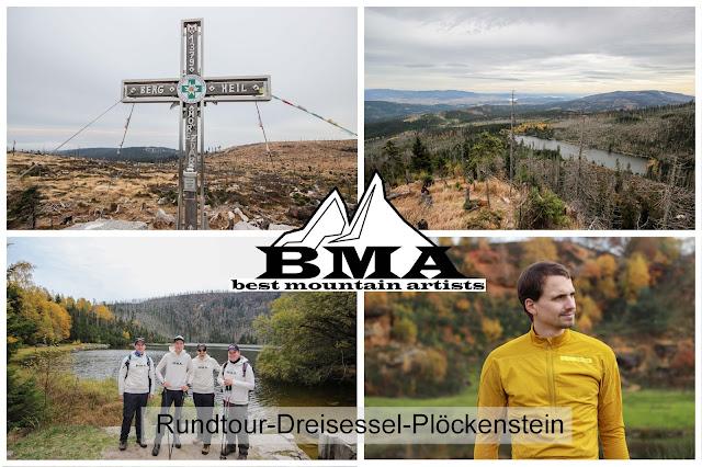 Premiumwanderweg Dreisessel Plöckenstein - Plöckensteinsee - Adidas Terrex - Urlaub Bayern - Ferien Bayern - wandern Nationalpark bayrischer Wald