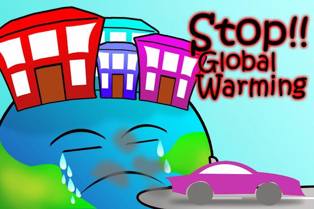 eLLa Pertiwi Poster Global Warming
