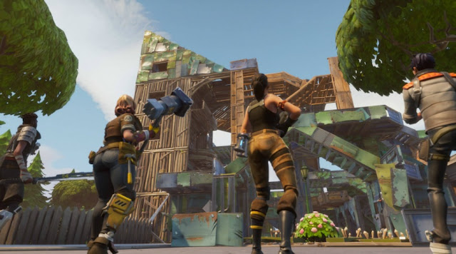 Fornite lanza mejoras en las construcciones