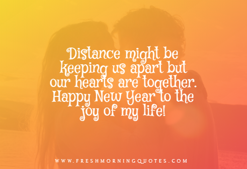 distance might be keeping us apart