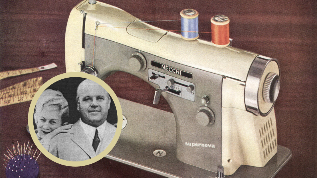 Still Stitching Vintage Sewing Machines Vittorio Necchi And His Cool Italian Sewing Machine
