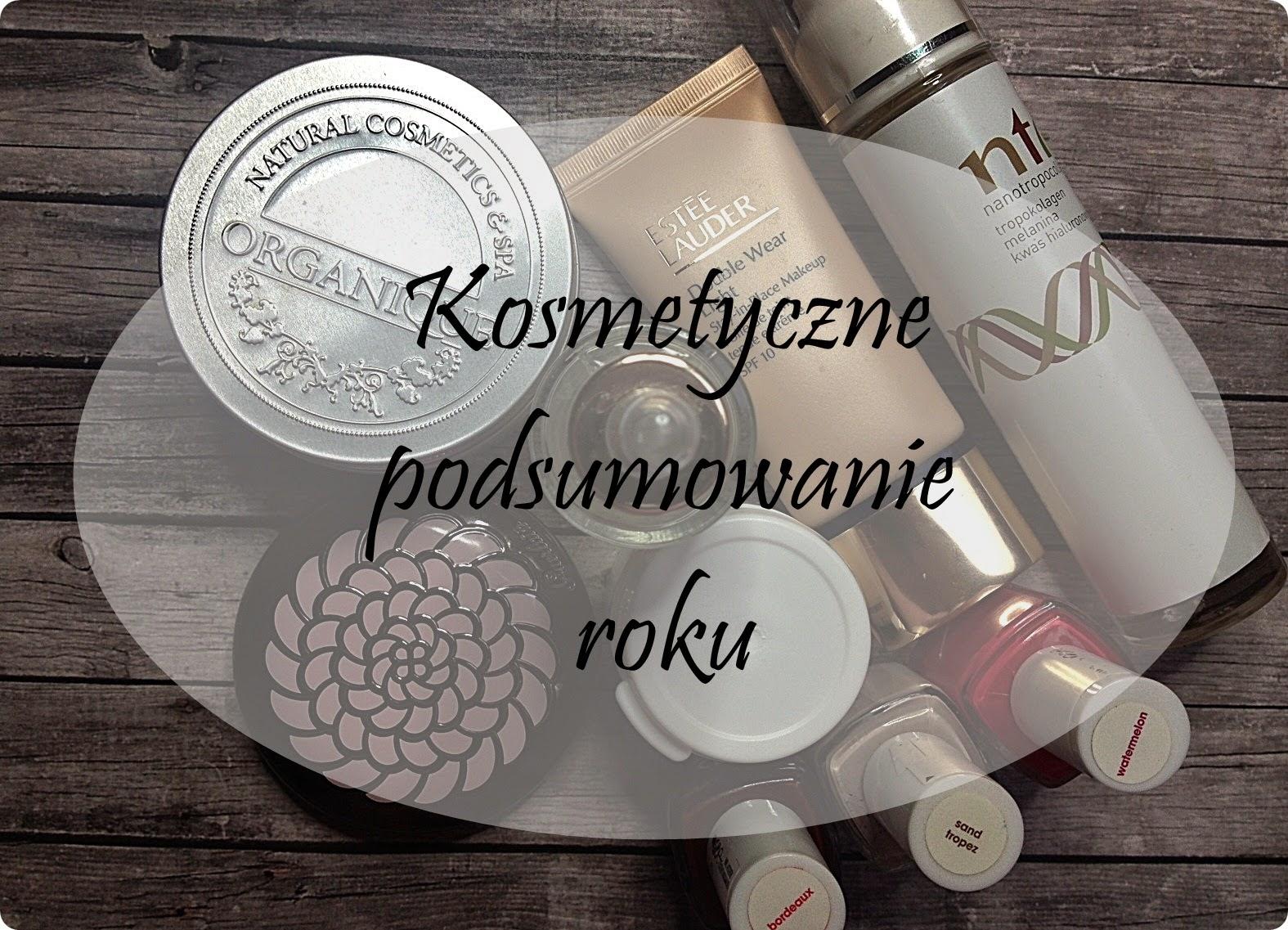 Kosmetyczne podsumowanie roku